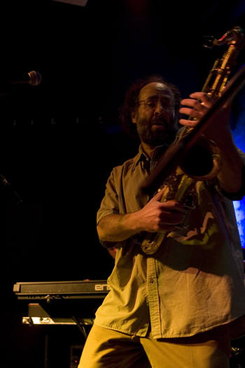 Bruce Feiner of Phil Guy &Amp; His Blues Band Feat. - Gdynia/Poland in Nov. 2006