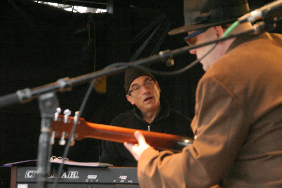 Bob with Tony Monaco at Bob Niederriter Trio at Nelson Ledges Quarry Parks , Gorry at the Quarry Festival