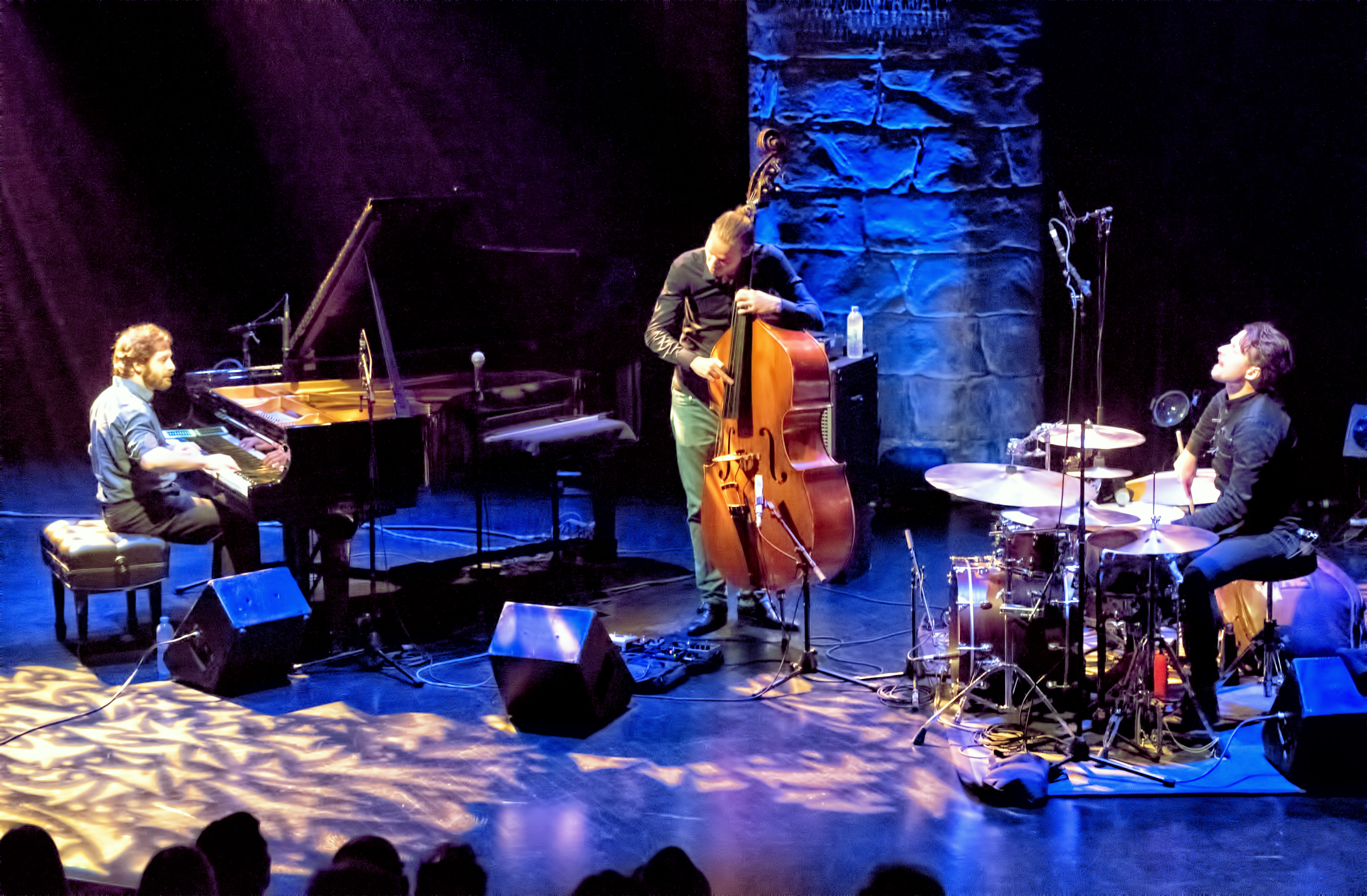 Ivo Neame, Jasper Hoiby And Anton Eger With Phronesis At The Montreal International Jazz Festival 2015
