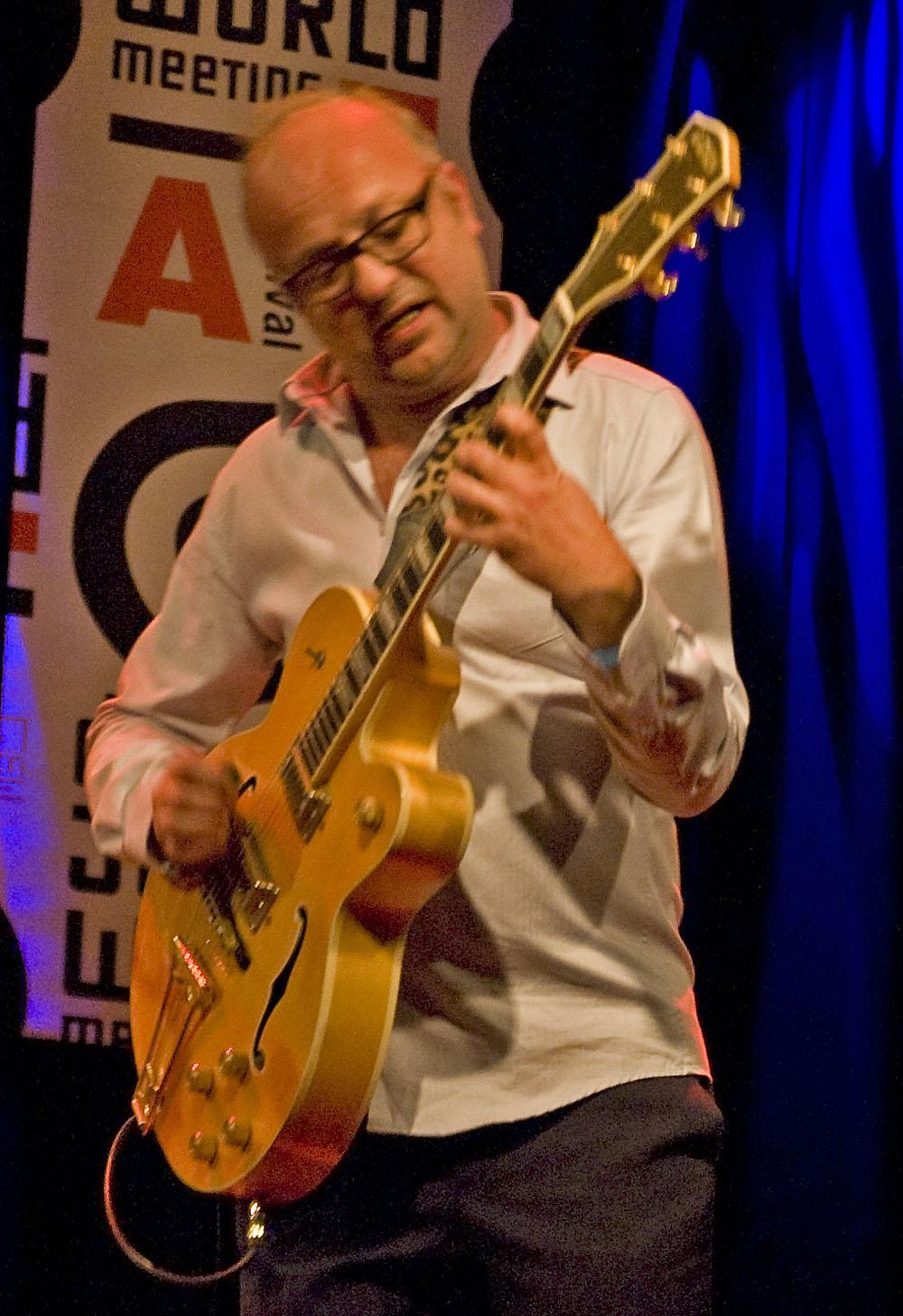 Anton Goudsmit with the Ploctones, Dutch Jazz & World Meeting, December 2, 2010
