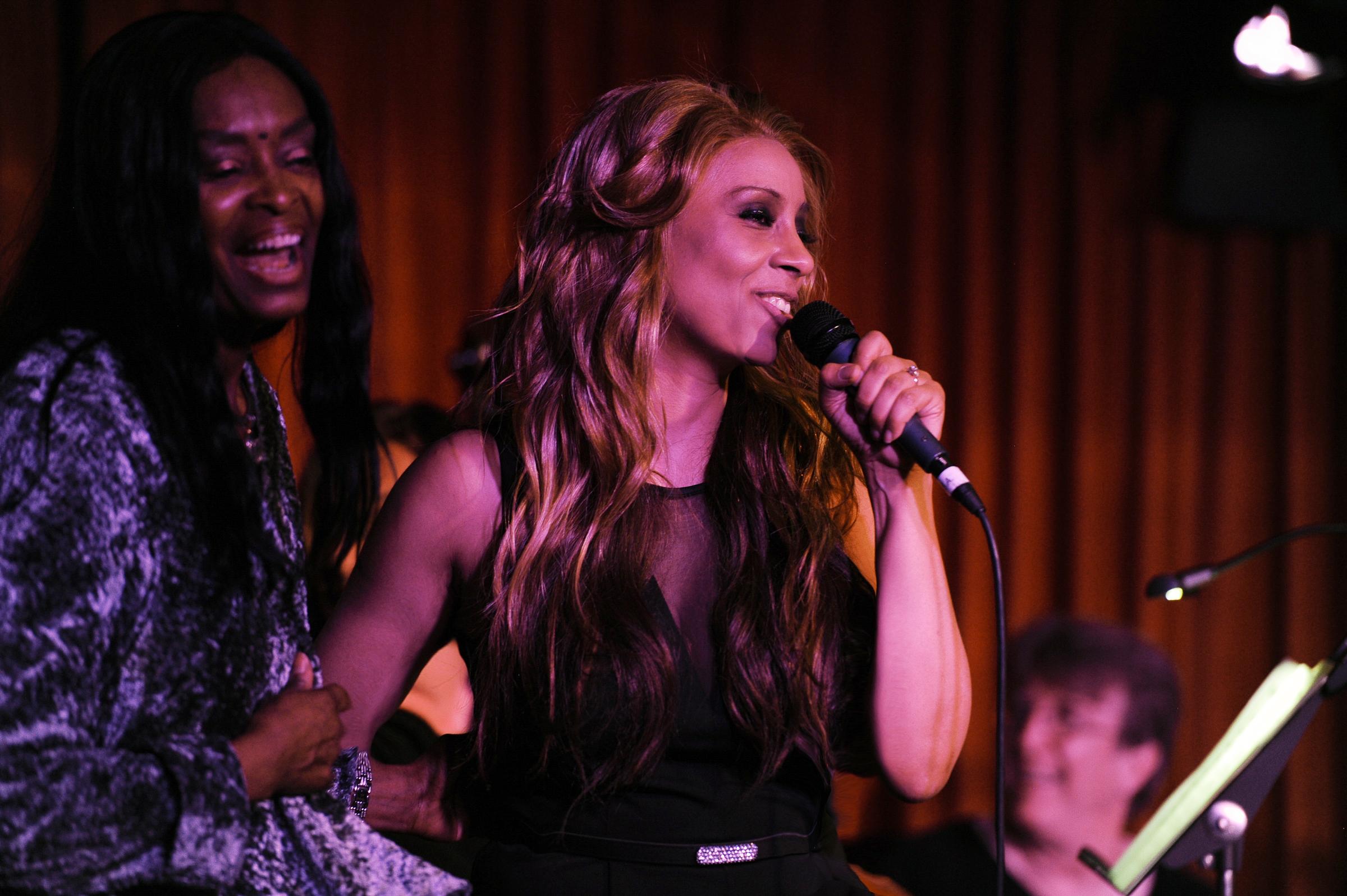 Forte' Carter and Kaylene Peoples Performs at Her cd Release Concert