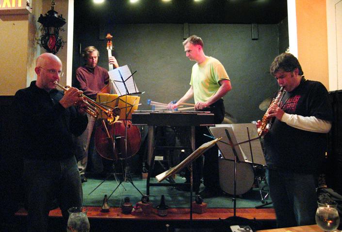Bauhaus Quartet with Kevin Norton, Dave Ballou, Tony Malaby and John Lindberg - Jimmy's 2006