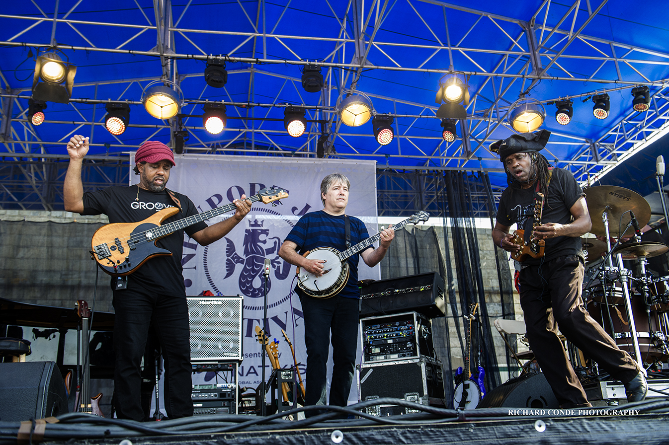 Bela Fleck and the Flecktones at the Newport Jazz Festival