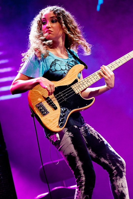 Tal Wilkenfeld At Montreux Jazz 2010