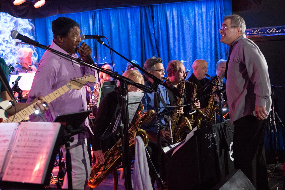 Ed Palermo Big Band at the Iridium, 1/8/2016
