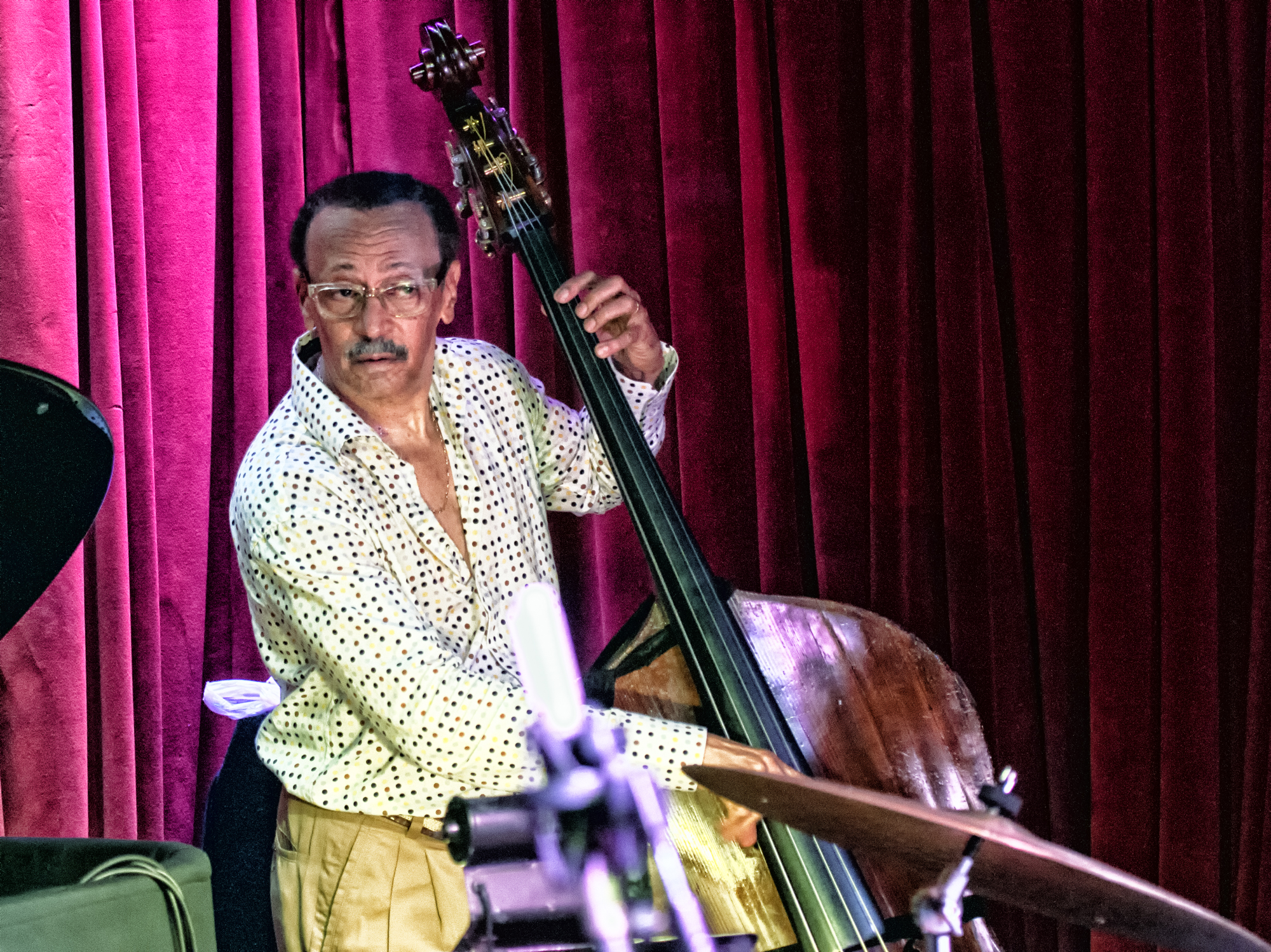 David Williams with the Javon Jackson Quartet at Smoke Jazz Club in New York City
