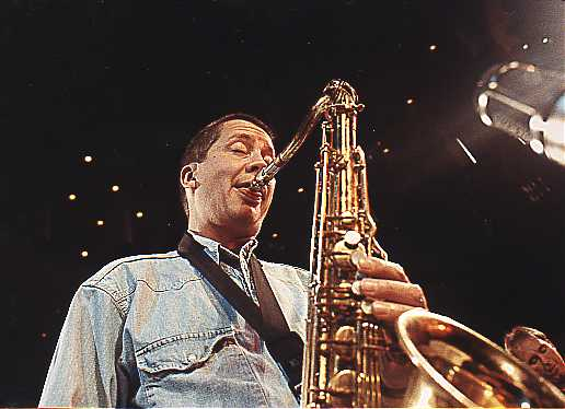 Andy Sheppard Sax