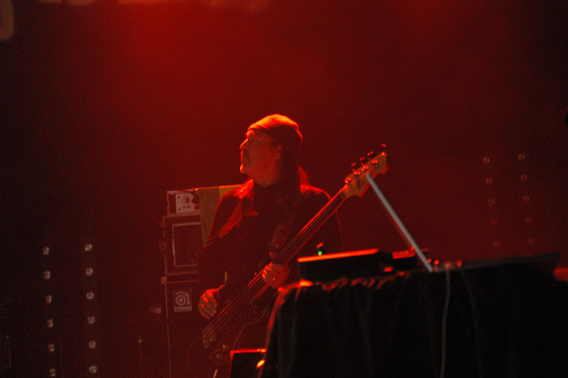 Bill Laswell Performing with Nils Petter Molv