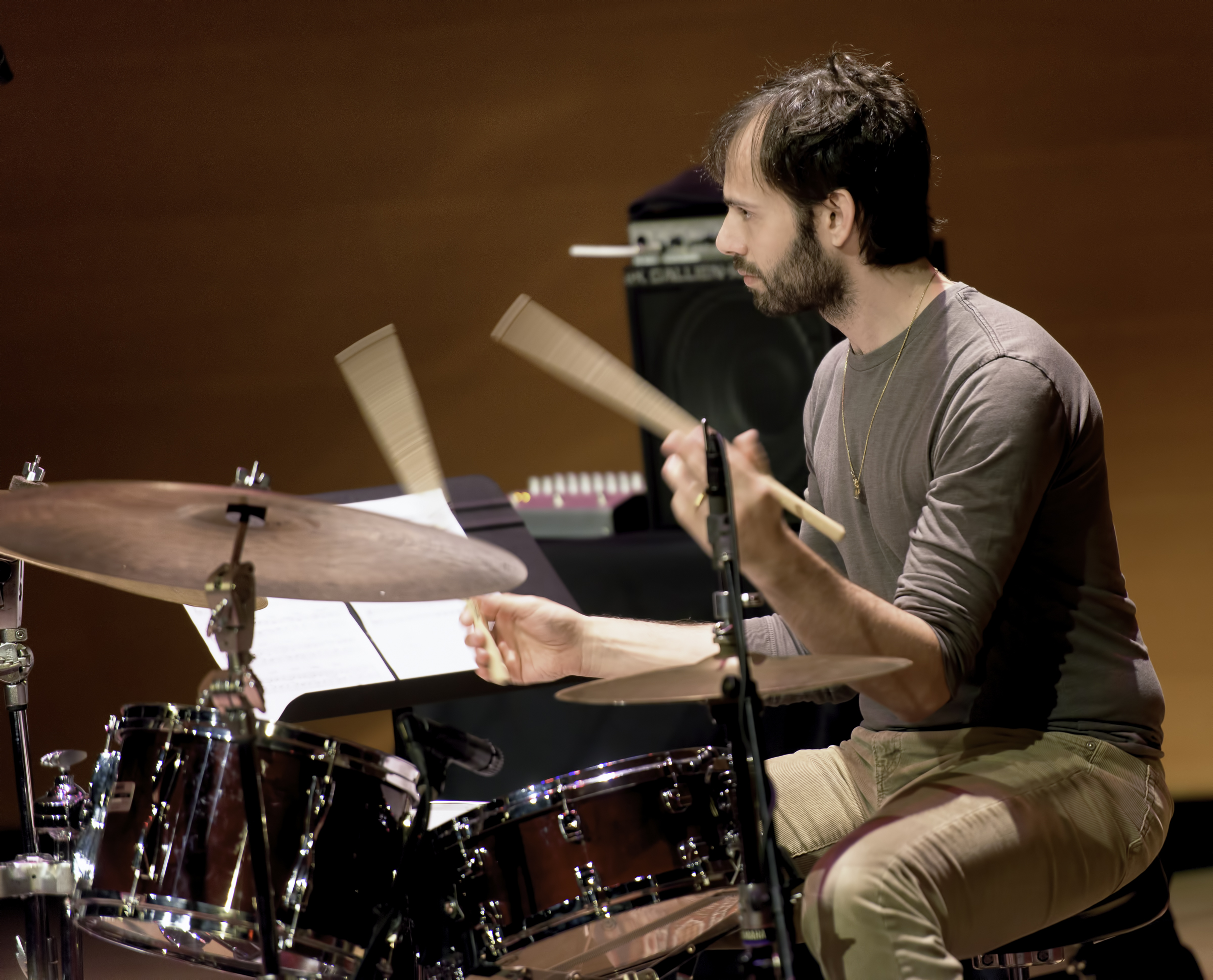 Dan Weiss With The Chris Potter Quartet At The Musical Instrument Museum (mim) In Phoenix