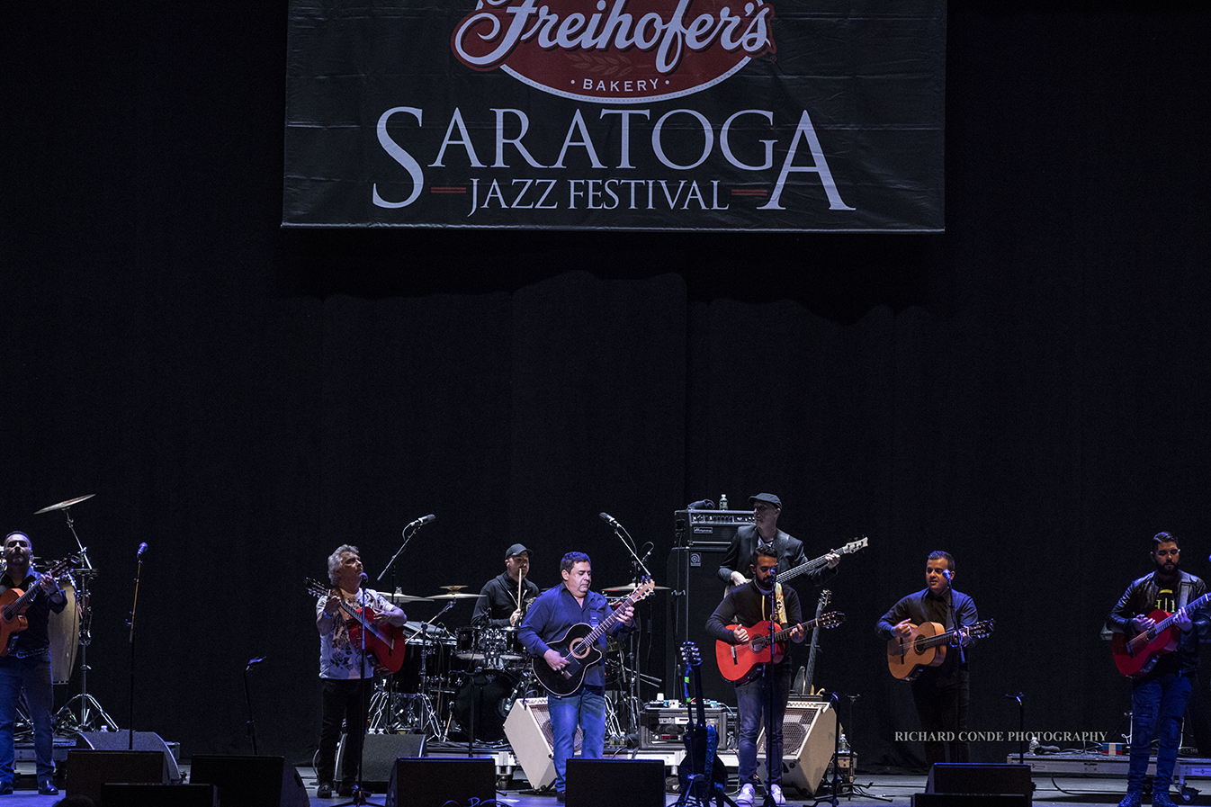 The Gipsy Kings at the Freihofer Saratoga Jazz Festival 2017