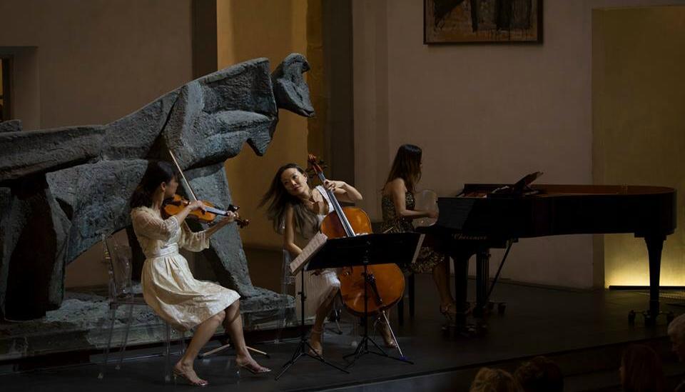 L'Ahn Trio al Museo Marini di Firenze