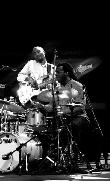 Reuben Rogers, Double Bass, Greg Hutchinson, Drums, 46. Jazz Festival Ljubljana, Slovenia
