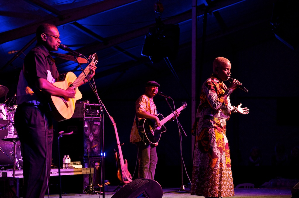 Angelique Kidjo at the Toronto Jazz Festival 2010