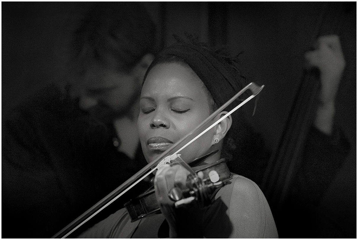 Regina Carter at Scullers Jazz Club in Boston, Massachusets