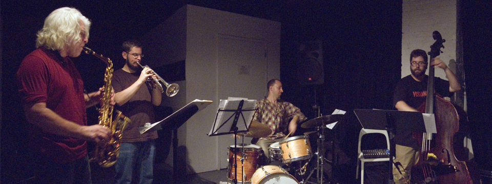 Vinny Golia Quartet with Harris Eisenstadt, Reuben Radding and Nate Wooley - The Stone 2007