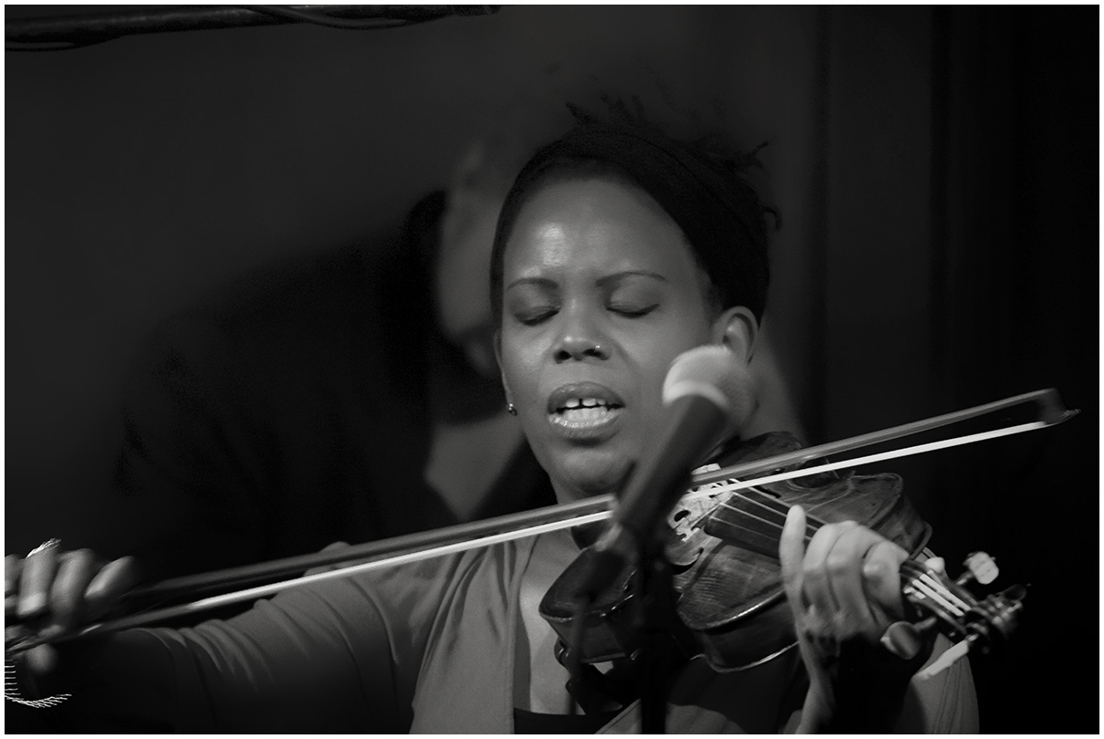 Regina Carter at Scullers Jazz Club in Boston, Massachusets
