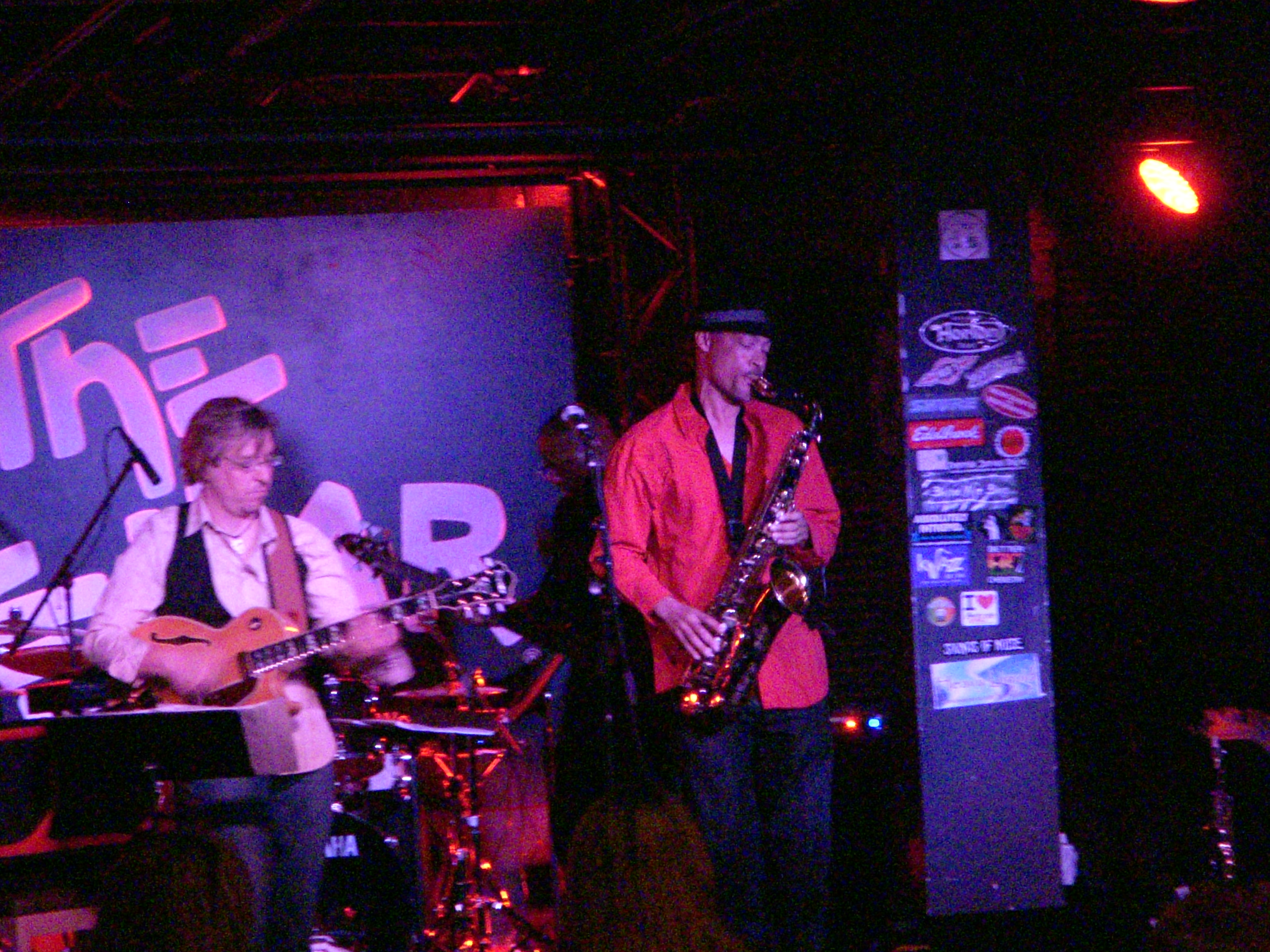 Tom Braxton at the Cellar, CA
