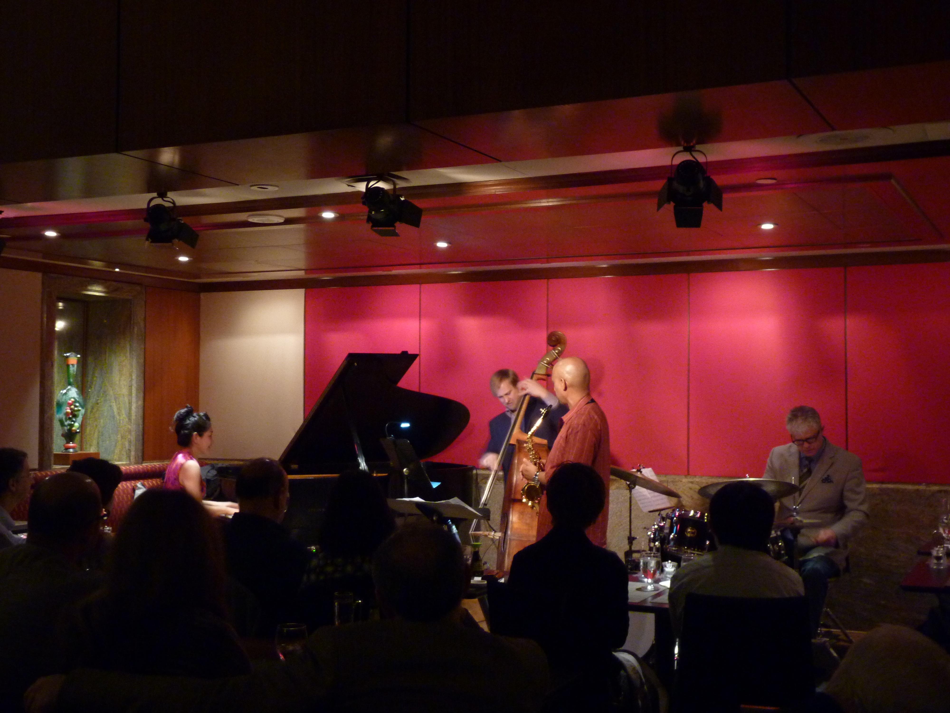 Kyoko Oyobe Quartet at Jazz at Kitano 2015
