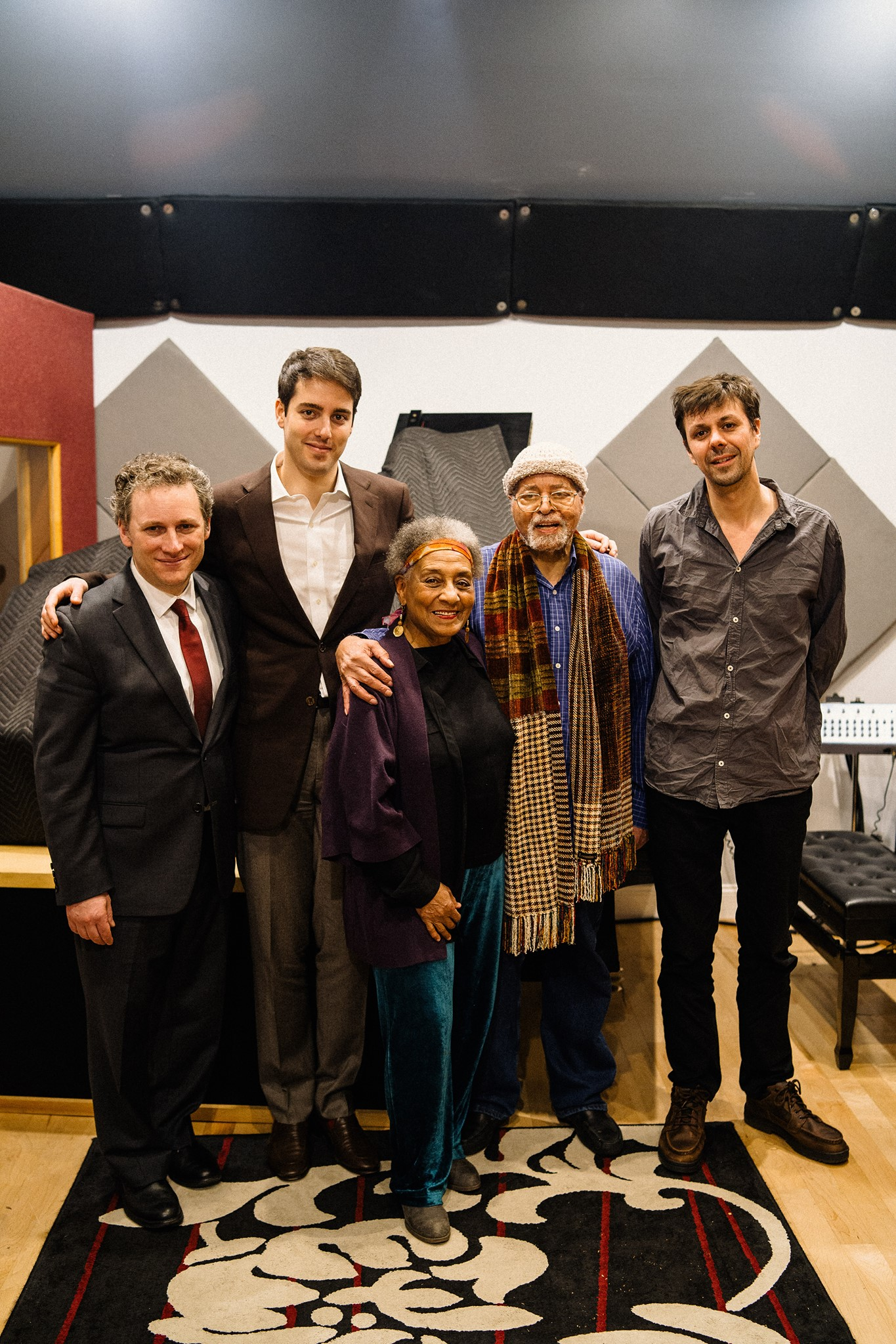 """Felix Lemerle """"Blues For The End Of Time"""" recording session"""