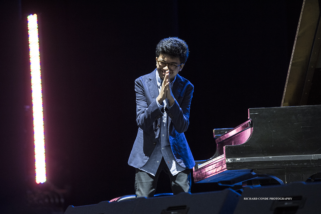 Joey Alexander at the 2018 Freihofer Saratoga Jazz Festival