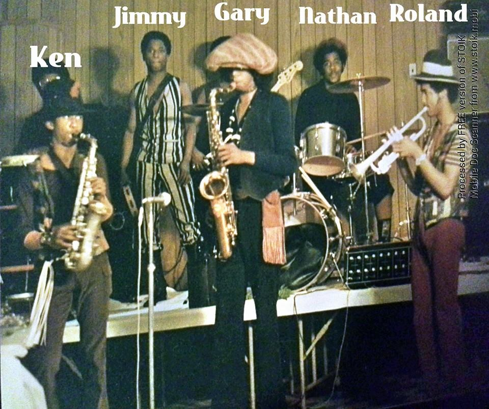 With The Jimmy Scott's Band 1970