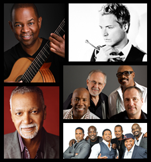 Earl Klugh, Fourplay, Chris Botti, Take 6, Joe Sample