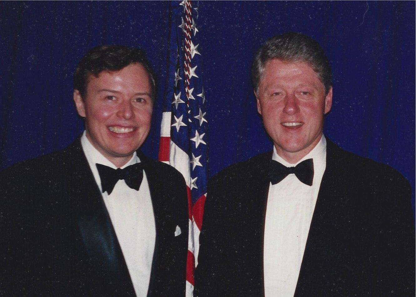 Bob Merrill & President Bill Clinton