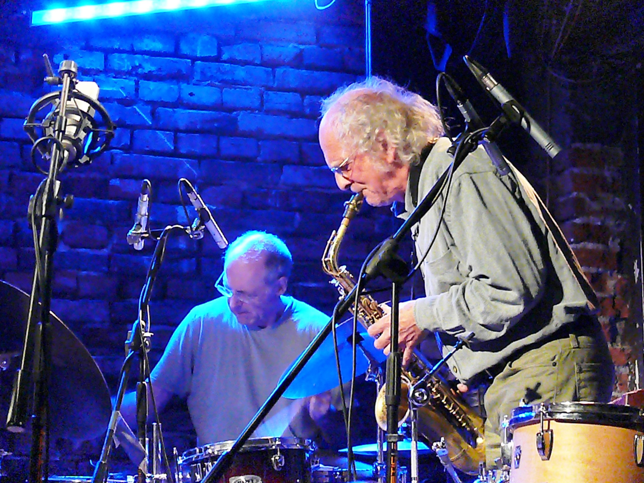 Paul Lytton and Trevor Watts at Alchemia, Krakow in November 2012