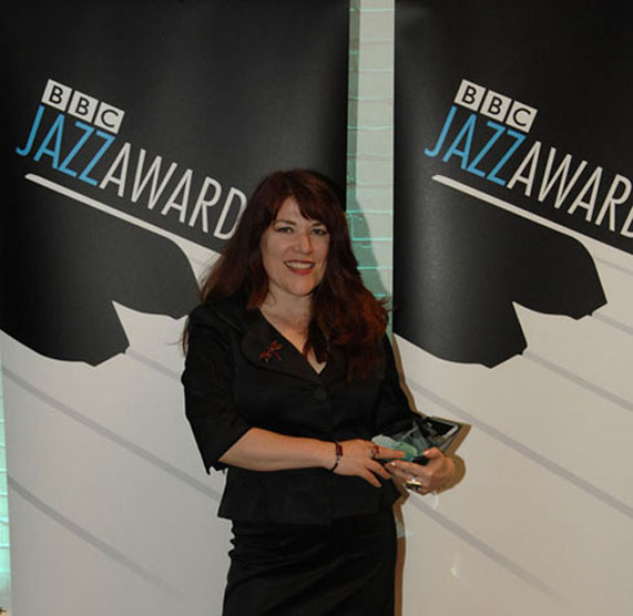Christine Tobin at the 2008 BBC Jazz Awards
