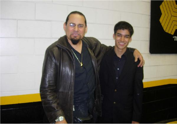 After a JALC Concert with Steve Turre