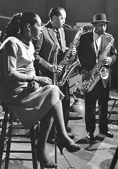 Billie Holiday, Lester Young, Coleman Hawkins
