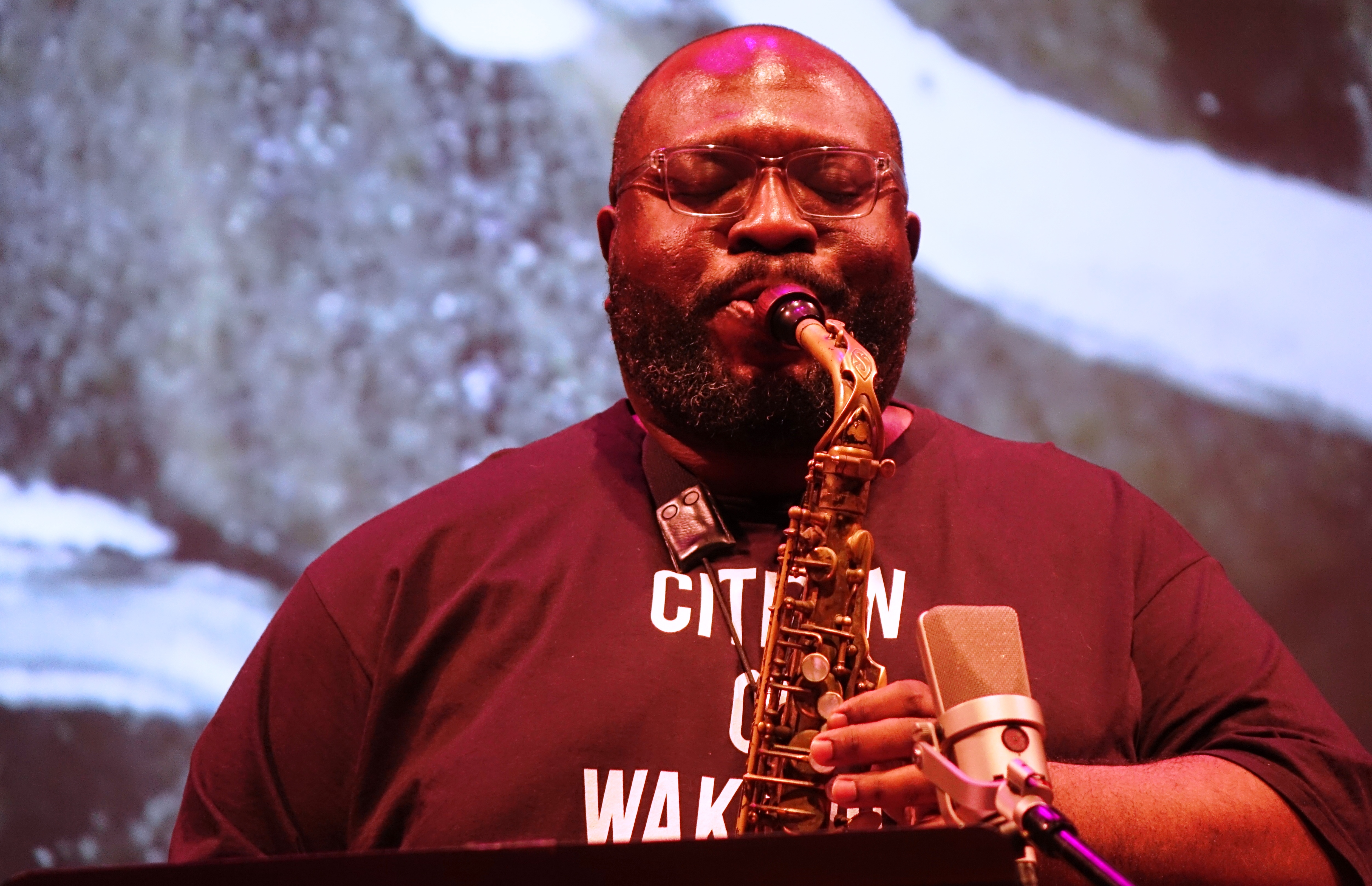 Darius Jones at the Vision Festival at Roulette, Brooklyn in May 2018