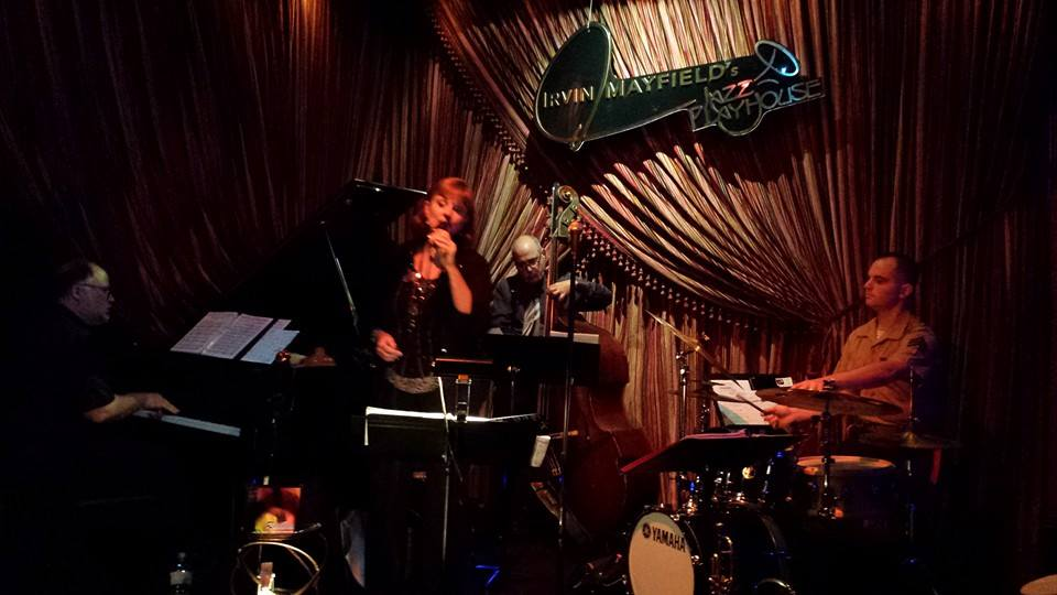 Singing at Irvin Mayfield's in Nola