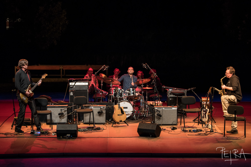 John Zorn + Thurston Moore // Stone Improv Night, Jazz Em Agosto 2018 / Gulbenkian Música