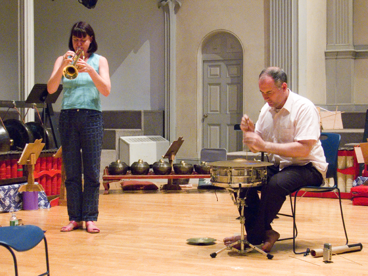 Birgit Ulher &Amp; Sean Meehan - Font Festival St. Mark's Church 2007