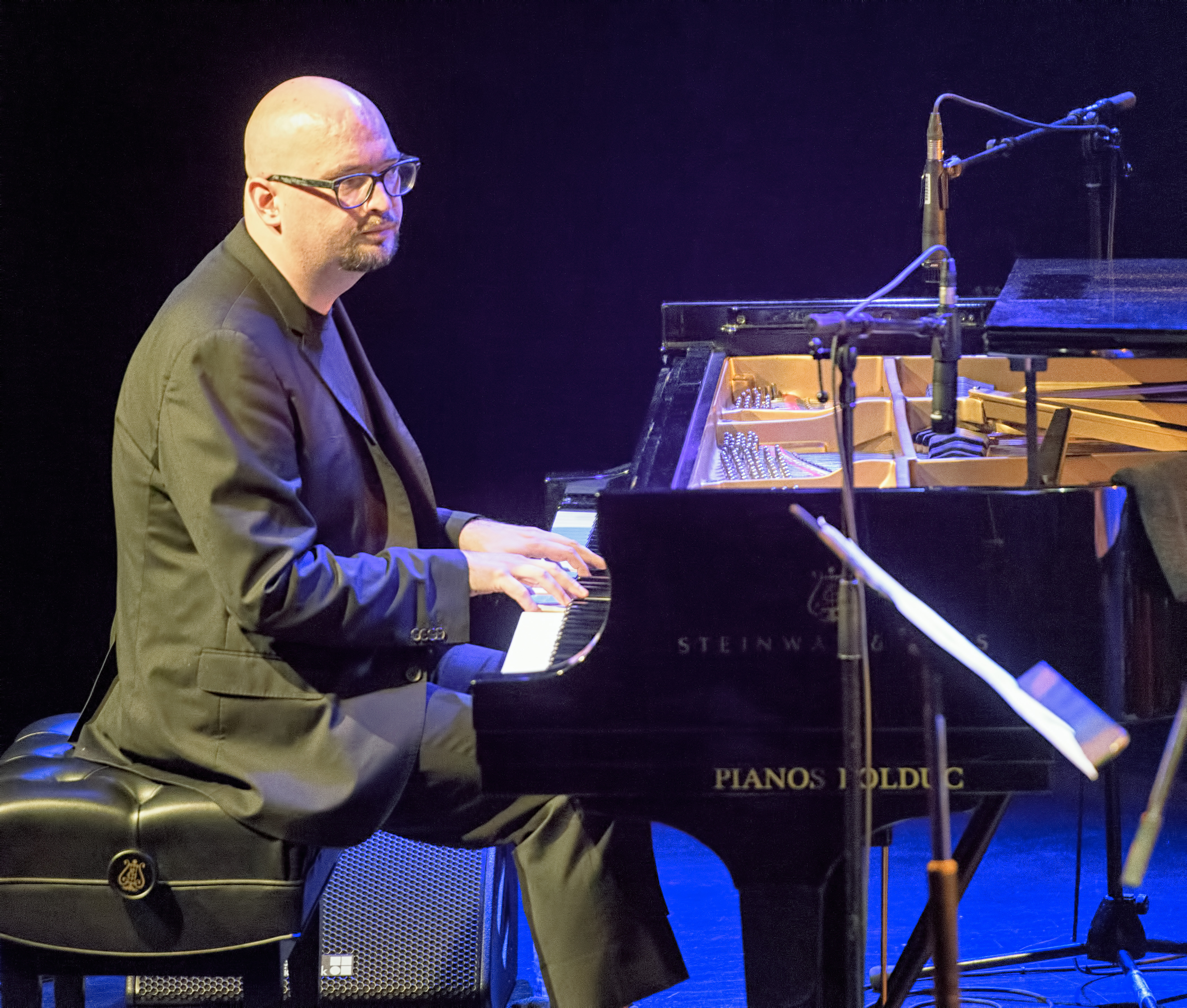 Ethan Iverson with the Bad Plus at The Montreal International Jazz Festival 2017
