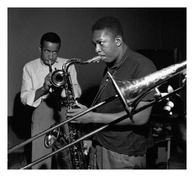 John Coltrane And Lee Morgan