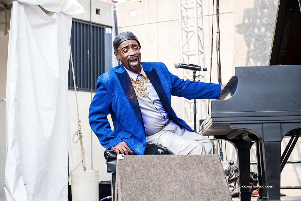 Frank O'Neal at the 2017 Detroit Jazz Festival