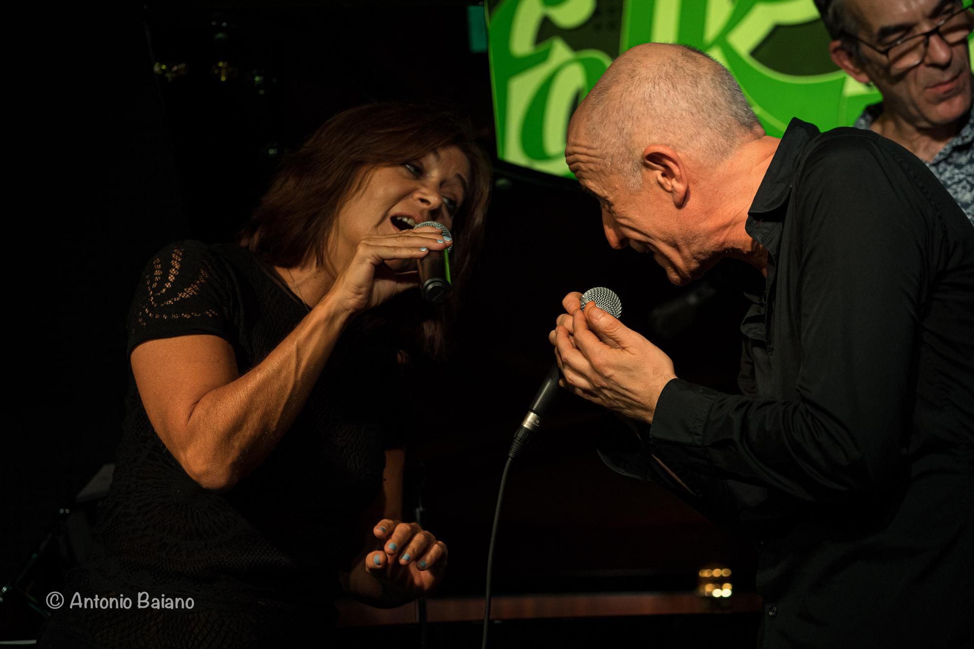 Barbara Raimondi and Peppe Servillo