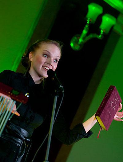 Kadri Voorand Performing at Jazzkaar 2010