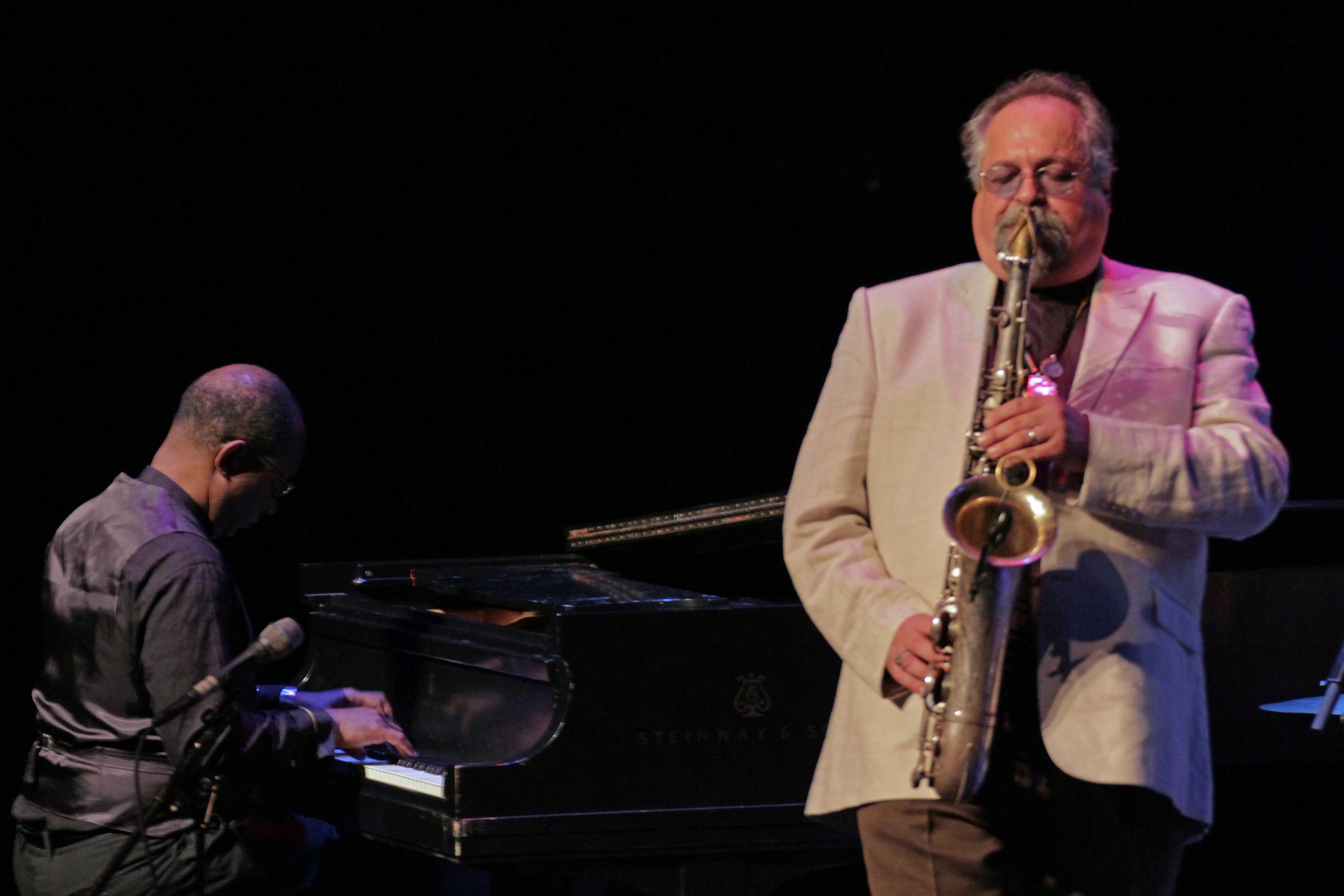 James weidman and joe lovano at tri-c jazzfest cleveland 2013