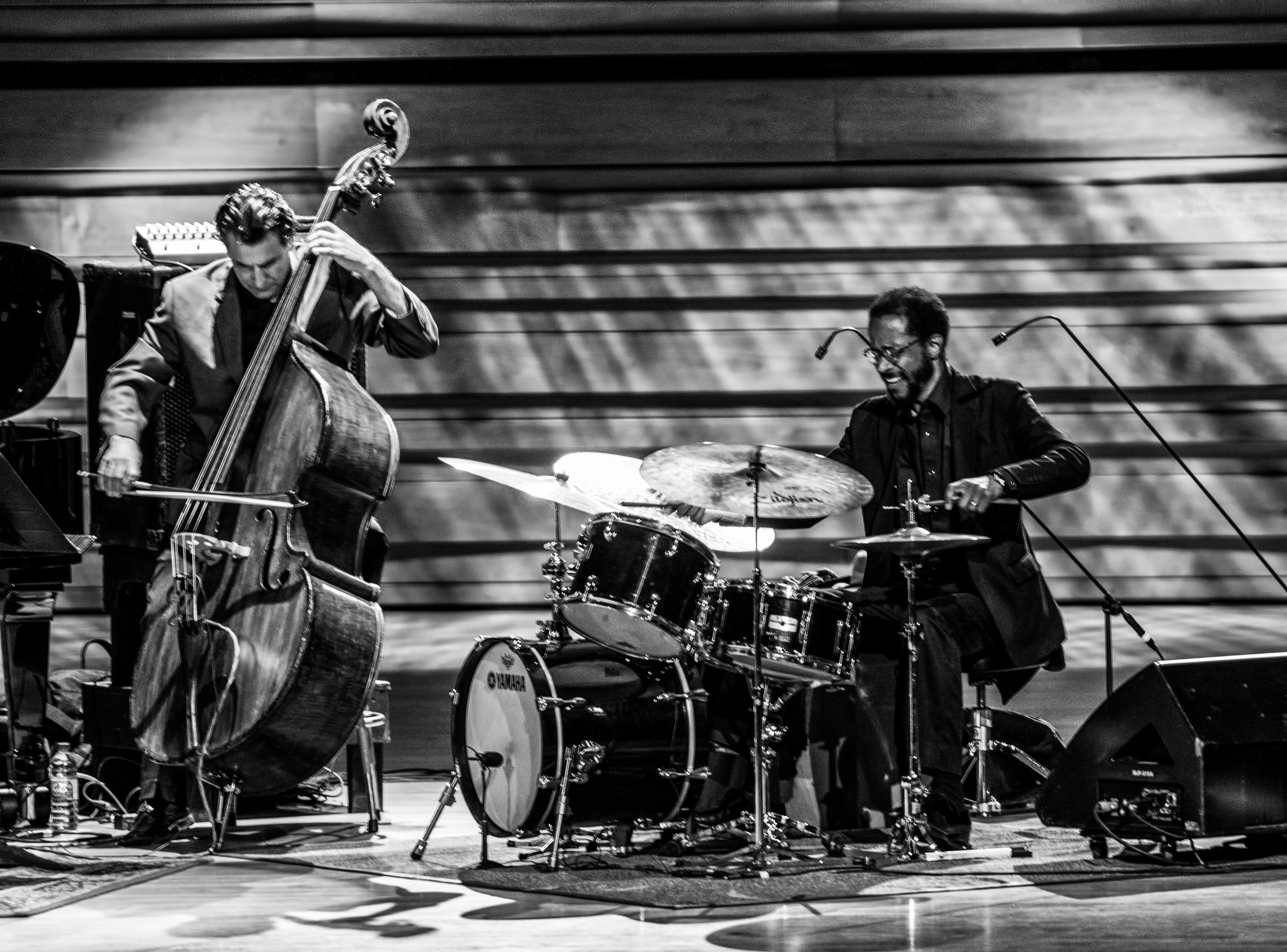 John Patitucci and Brian Blade with the Wayne Shorter Quartet at the Montreal International Jazz Festival 2015