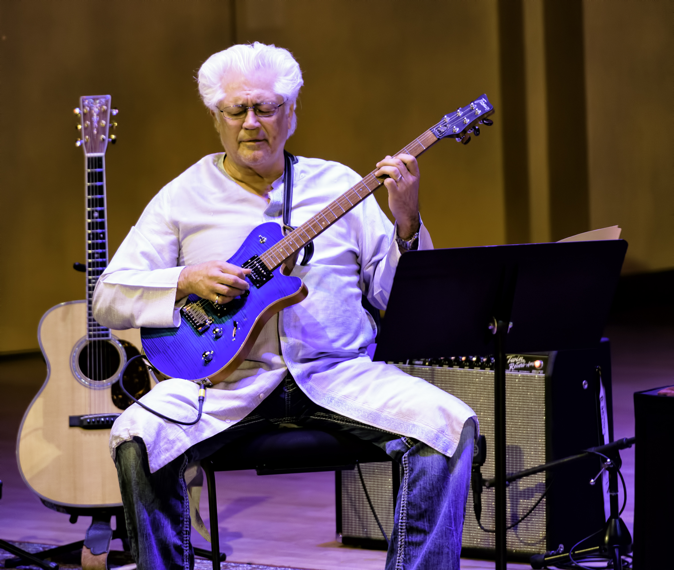 Larry Coryell With George Brooks And Bombay Jazz At The Musical Instrument Museum (mim) In Phoenix