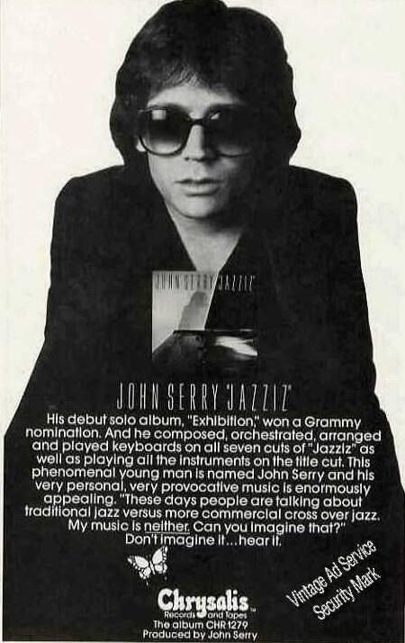 John serry jazziz lp poster