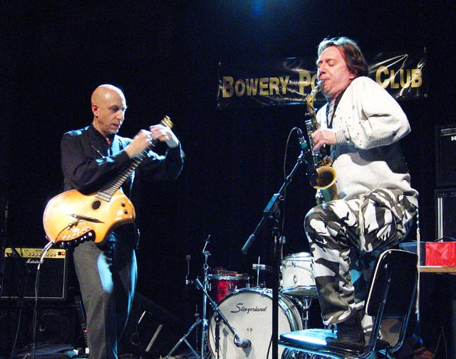 Elliott Sharp and John Zorn - Bowery Poetry Club 2005