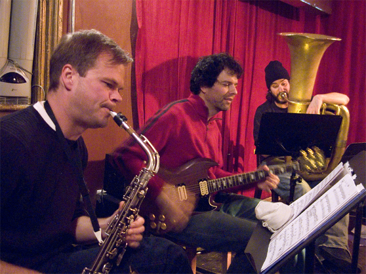 Eyal Maoz' the Very New and Crazy Slavic Trio (w/ Briggan Krauss and Ron Caswell) - Barbs 2007