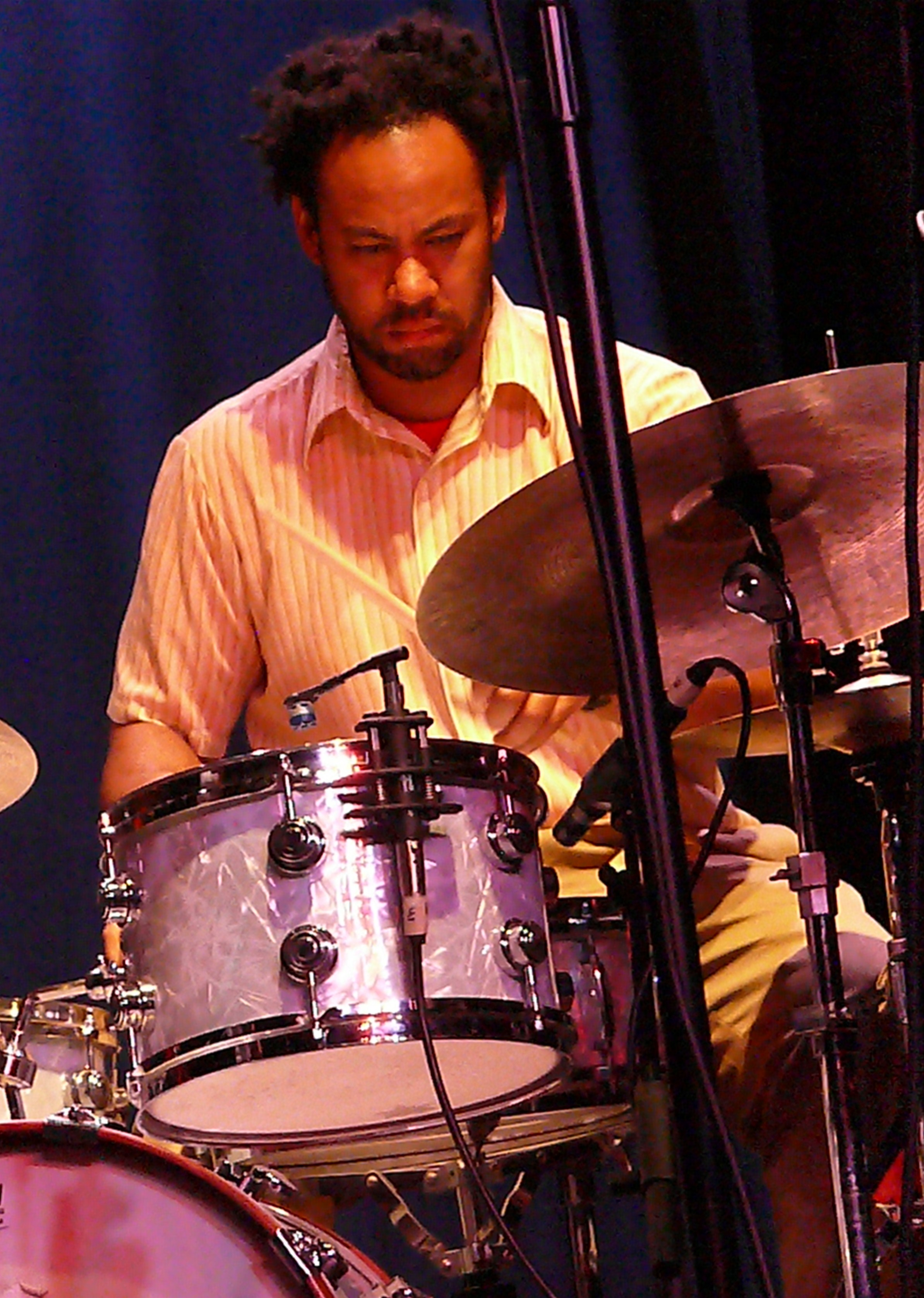 Mike Reed at the 2010 Vision Festival in New York