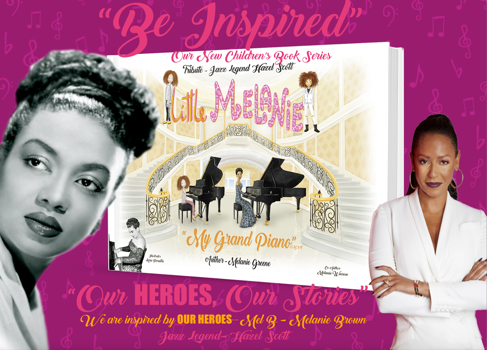 Tribute Hazel Scott- Little Melanie