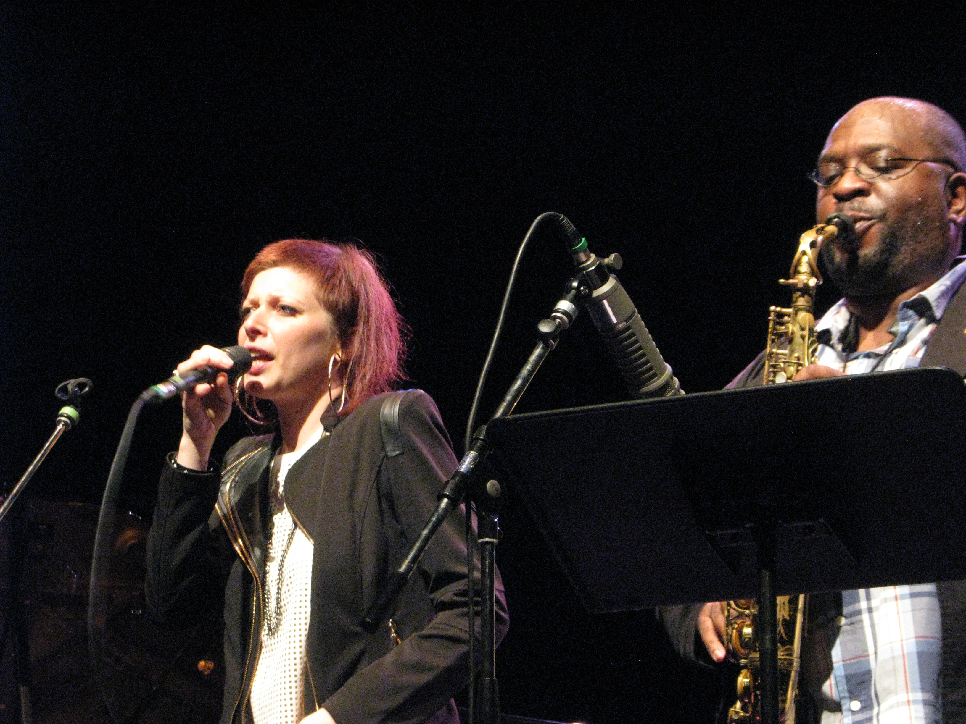 Émilie Lesbros Jazzdor Strasbourg 2014