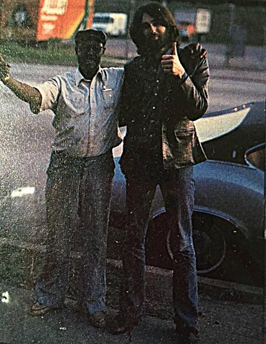Pintetop Perkins & Chris Rannenberg in Chicago 1982